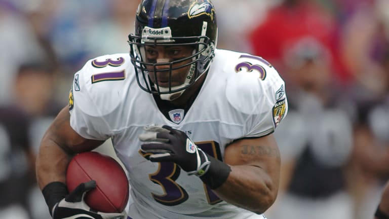 """Jamal Lewis: Lot of """"hate"""" to Baltimore-Steelers rivalry"""