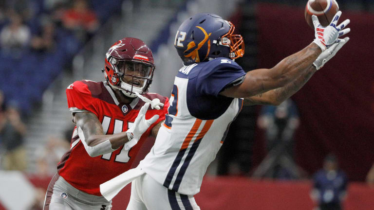 How one word convinced the AAF's Charles Johnson to return to pro football