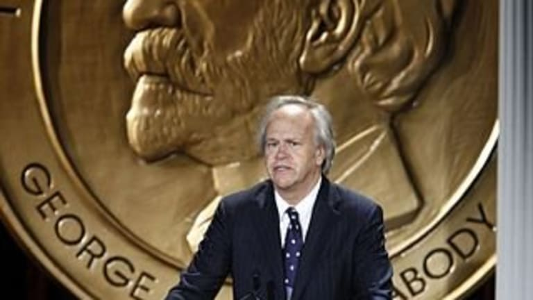 """Why Dick Ebersol considers Hall's Rozelle award """"very near the top"""" of honors"""