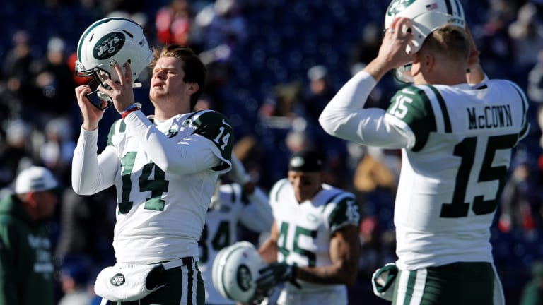 "McCown: Why working with Jets' quarterback Sam Darnold was such ""a blast"""