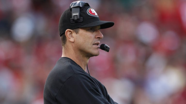 Is Jim Harbaugh on a hot seat?
