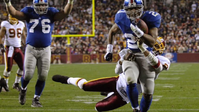 State Your Case: Why can't Tiki Barber gain more interest from Hall voters?