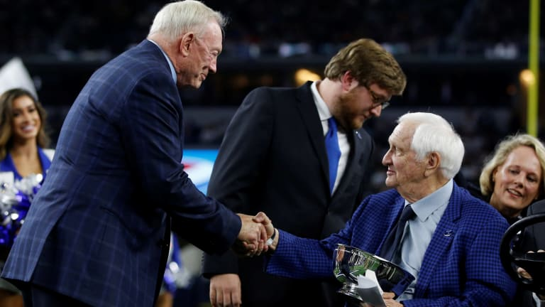 How Hall-of-Famer Gil Brandt reminded us that, yes, time can heal all wounds