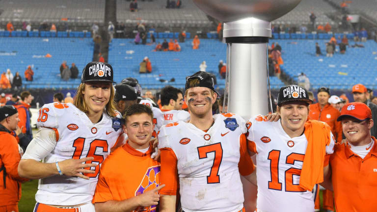 A JERSEY GUY: Clemson Acting and Looking Like National Champions--Again