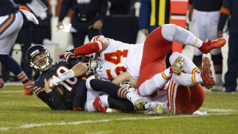 Weary Christmas: Trubisky Latest in Long Line of Incomplete Bears Quarterbacks