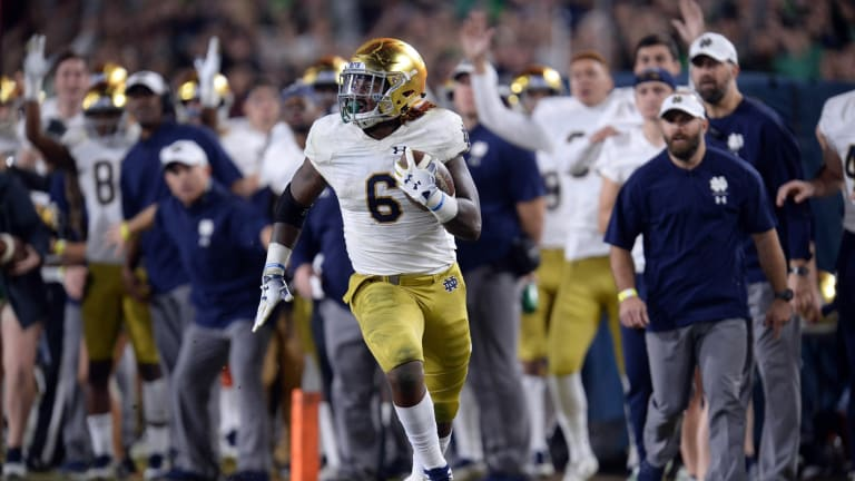 Notre Dame cast in a new role