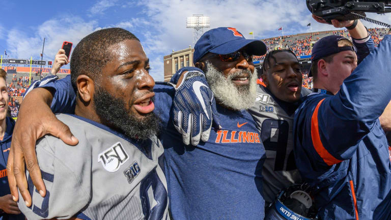 On Hot Seat Two Weeks Ago, Lovie Smith Has Earned Right to Carry on at Illinois