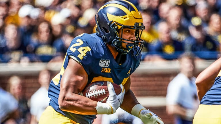 Michigan Flush With Experience At Running Back In 2020