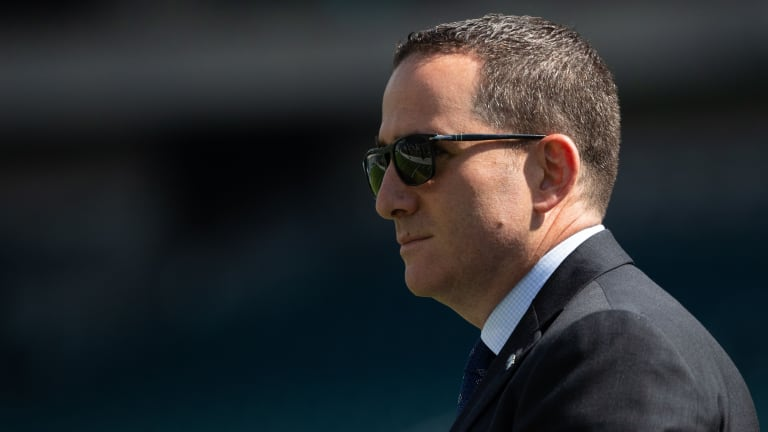 Eagles Howie Roseman discusses their initial thinking in potential DeAndre Hopkins trade talks