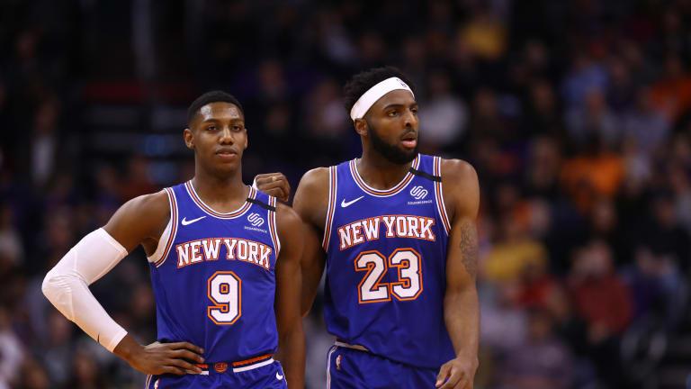 Knicks Social Media Check-In (Week of August 7)