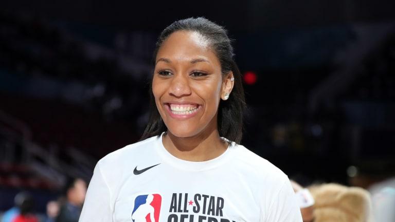 A'ja Wilson Named WNBA MVP