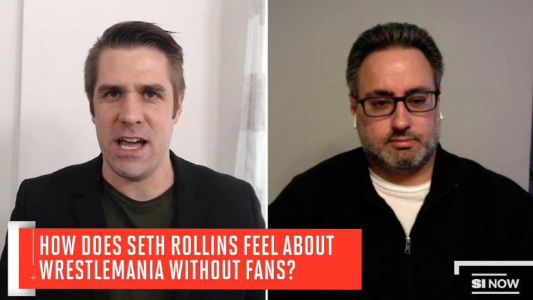 Seth Rollins on Working Without Fans, WWE's Decision to Hold Events, What He's Watching and More