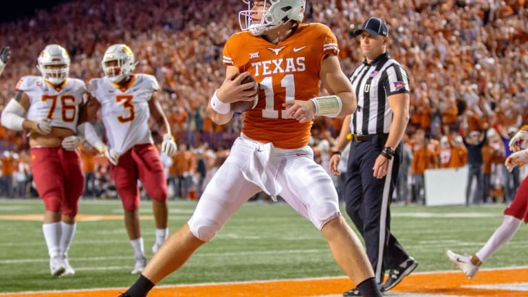 QBs will be focal point in Texas-Oklahoma rematch