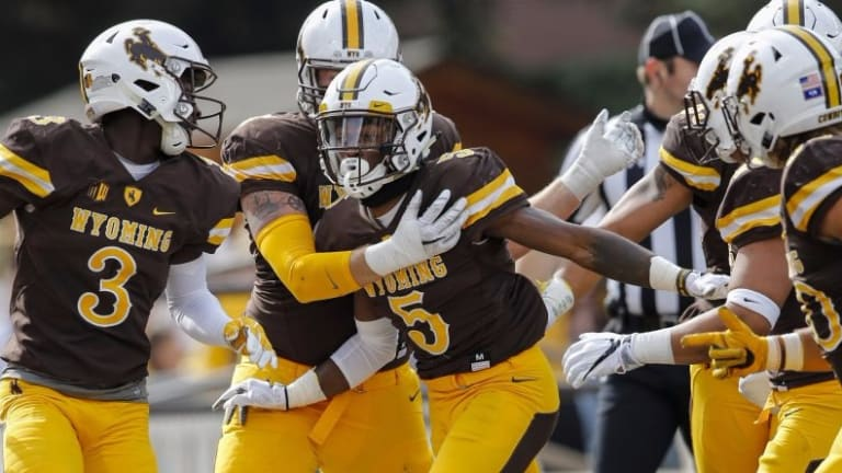 Wyoming's Gafford fastest 40-yard time in 2018 Pro Days