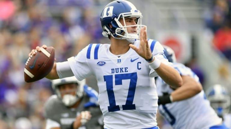 Duke QB Jones returning to face Va. Tech