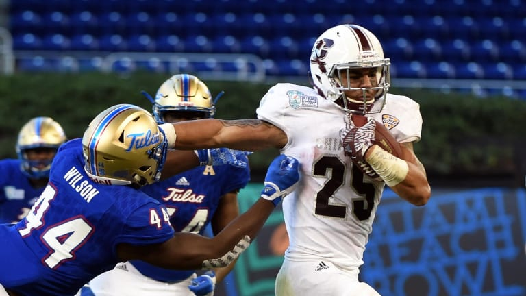 Central Michigan to be thin in passing game for opener