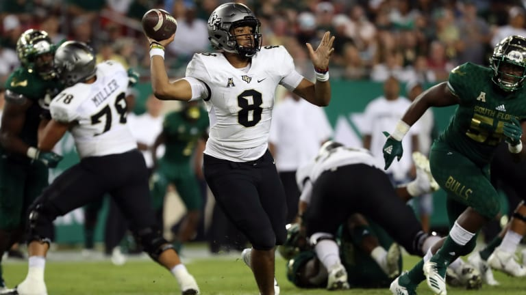 Backup QB leads No. 8 UCF into AAC title game vs. Memphis