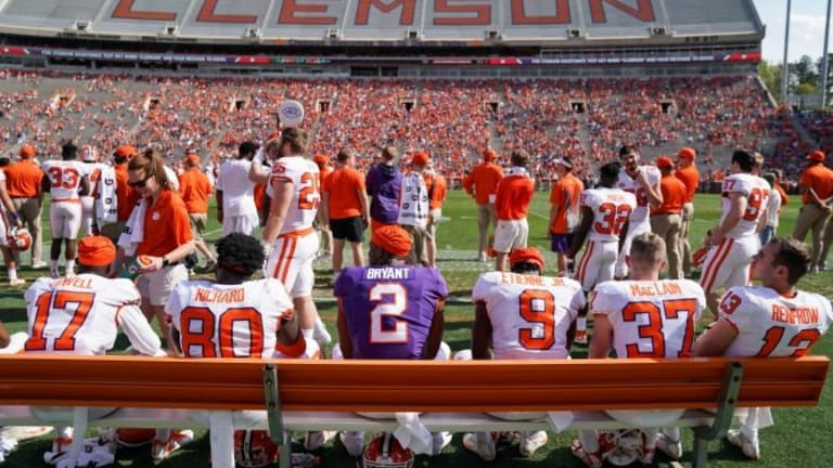 Furman QB Roberts starts at Clemson, which he attends