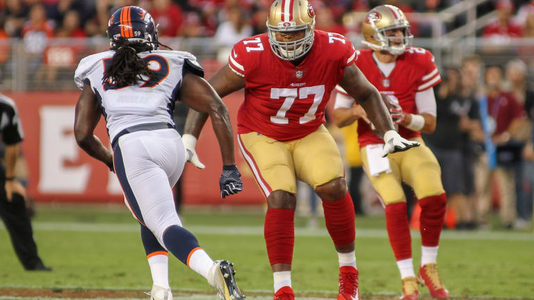 Reports: Patriots acquire T Brown from 49ers