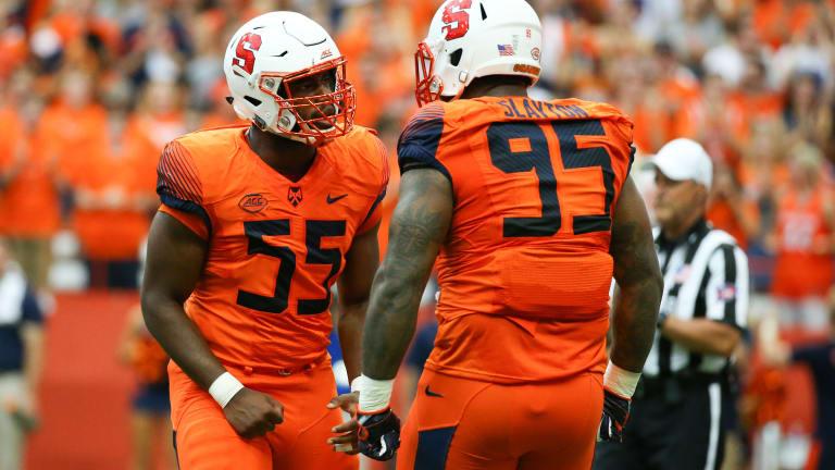 Future NFL draft picks helped Syracuse push Clemson to the brink