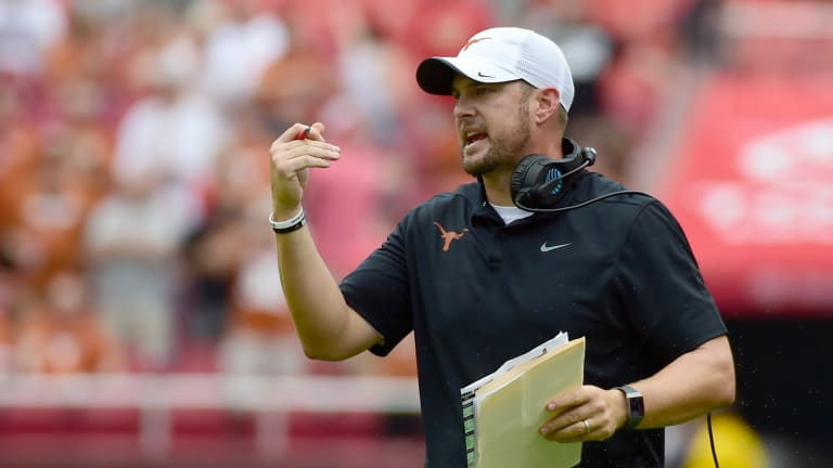 Texas coach Tom Herman: Lose the 'funeral home' feeling