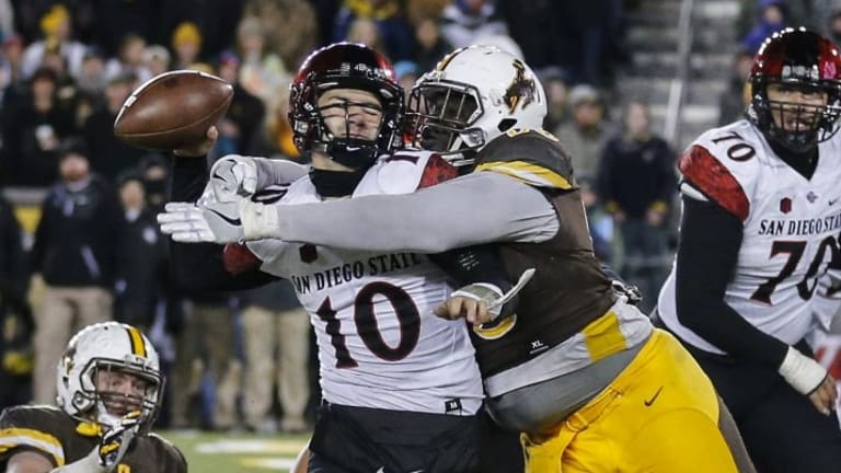 Wyoming DT Ghaifan suspended after charges filed