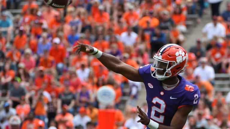 Furman faces line of fire at No. 2 Clemson
