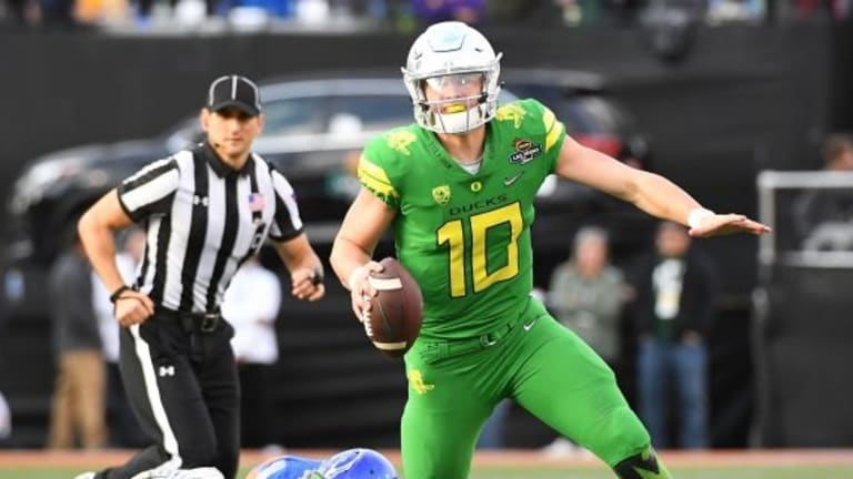 No. 24 Oregon starts new era vs. Bowling Green