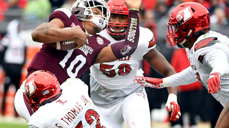 Fitzgerald to miss No. 18 Mississippi State's opener vs. SFA