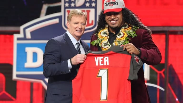 Buccaneers more than pleased with first-round pick Vea