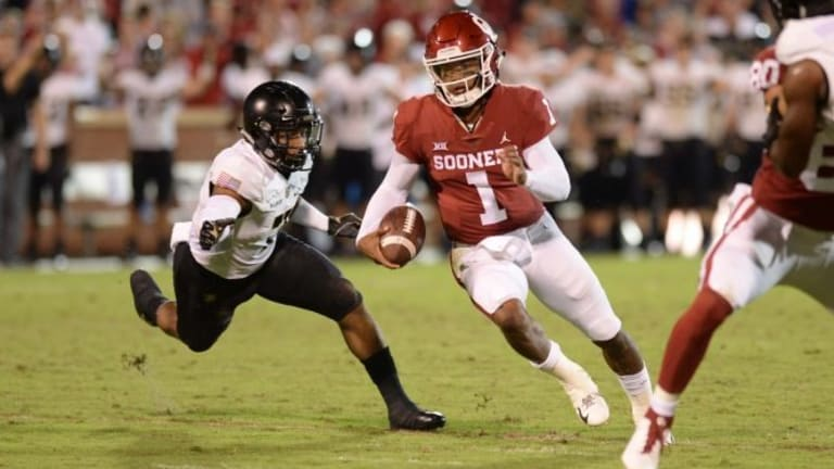 No. 6 Oklahoma may be tested downfield by Baylor