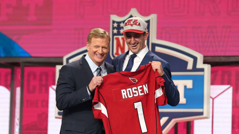 Angry Josh Rosen has plenty of admirers