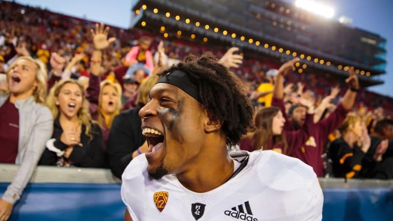 Arizona State WR Harry to enter 2019 NFL Draft