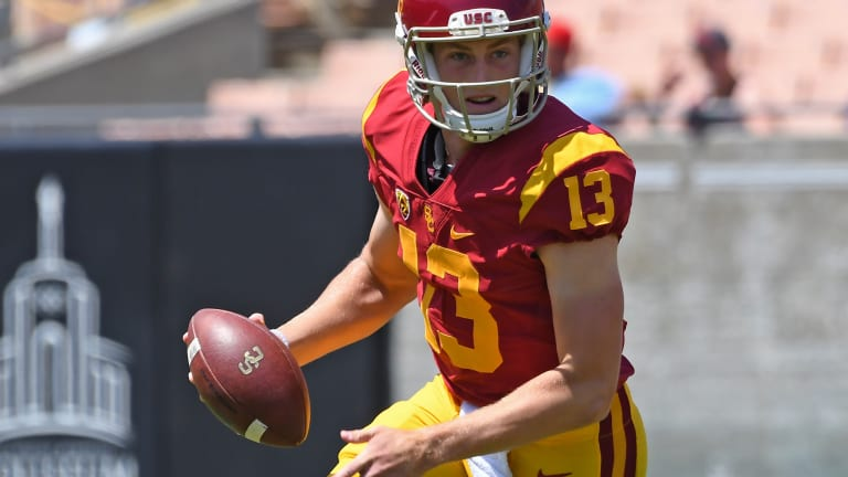 Third-string QB Sears might start for USC