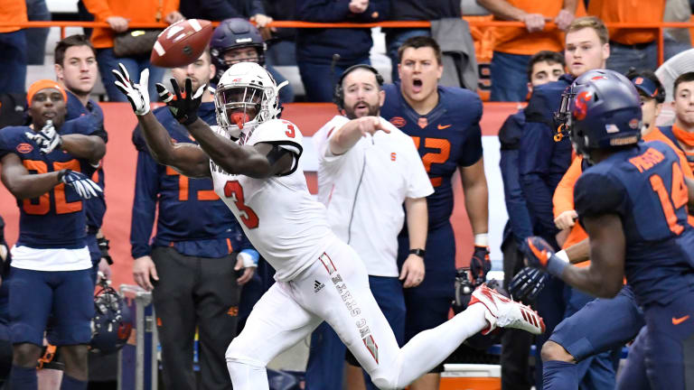 Georgia's top blocker, Week Nine's top receiver headline NFL Draft risers