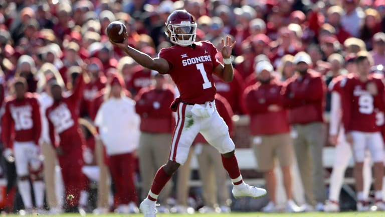 Kansas' Beaty knows a thing or two about No. 6 Oklahoma QB Murray