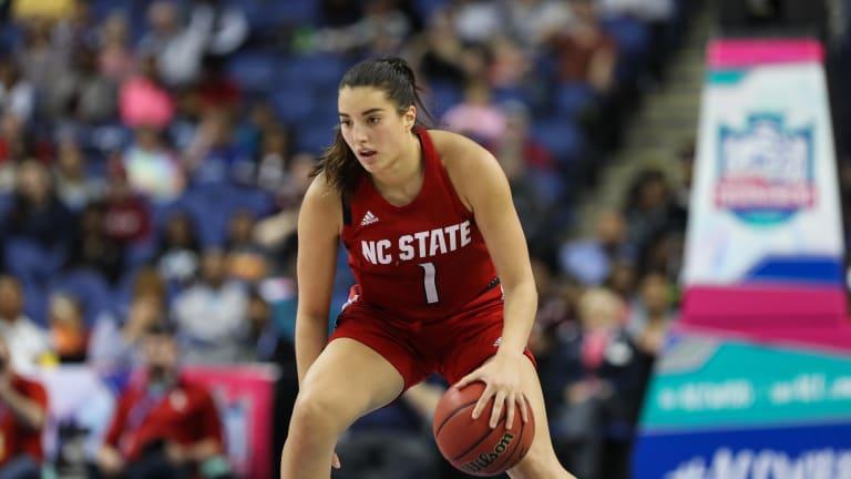 Aislinn Konig Passed over in WNBA Draft