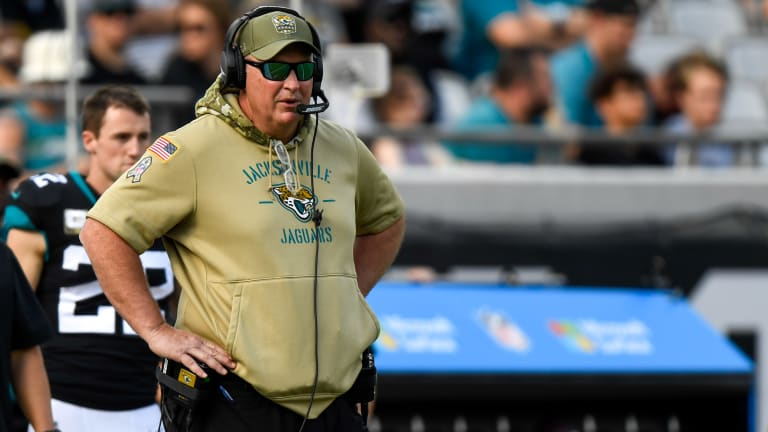 What Is Doug Marrone's Evaluation of the Jaguars' Current Offensive Line?
