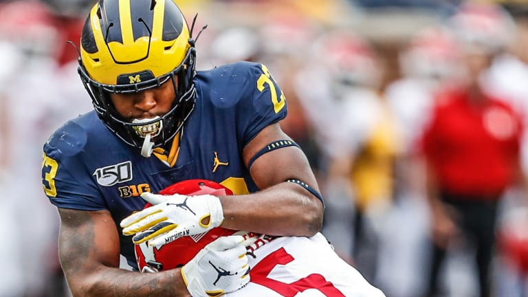 Top 5 Individual Performances From Michigan's Week 1 Win
