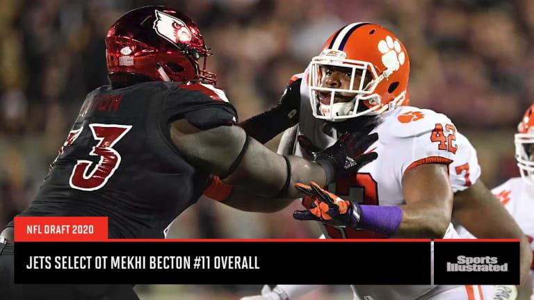 NFL Draft: Analyzing New York Jets first round pick Mekhi Becton