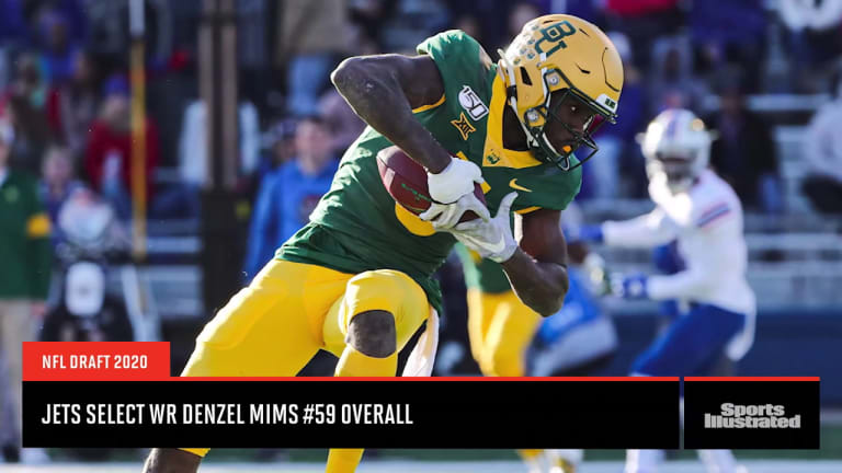 NFL Draft Analysis: New York Jets second round pick Denzel Mims a potential playmaker