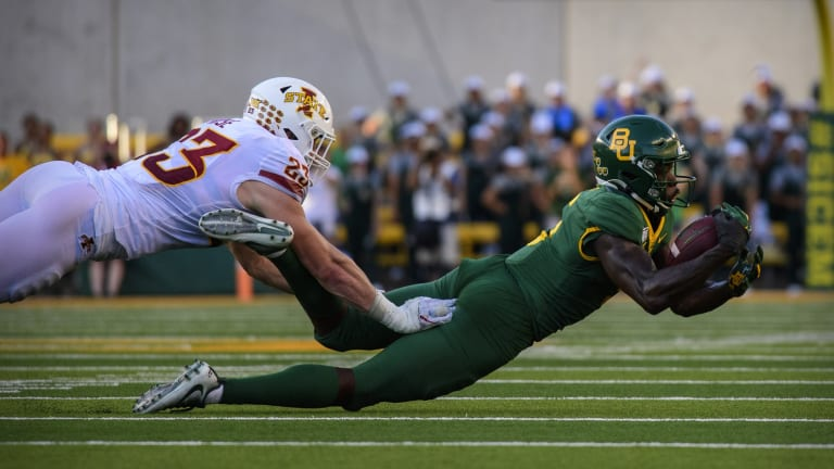 NFL Draft analysis: How playmaker Denzel Mims fits on the New York Jets