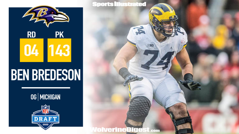 Ben Bredeson Picked In The Fourth Round
