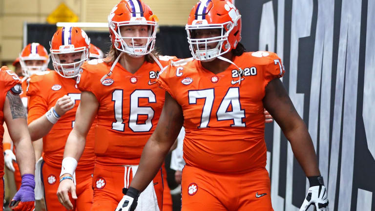 John Simpson Latest Tiger to Join Clemson-to-Raiders Pipeline