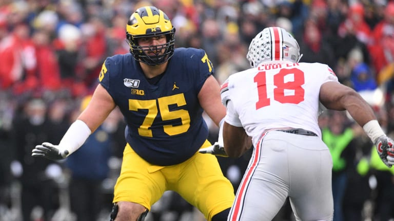 Packers Take OL Jon Runyan with First of Sixth-Round Picks