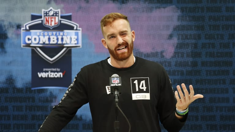 Why the New York Jets took quarterback James Morgan in the fourth round of the NFL Draft