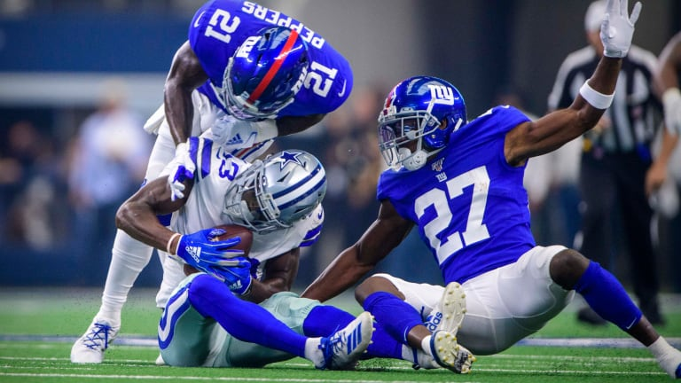 Draft Suggests Backfield-first Philosophy for Giants Defense