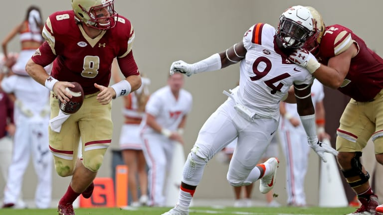Former Virginia Tech Defensive End Trevon Hill Signs with the New England Patriots