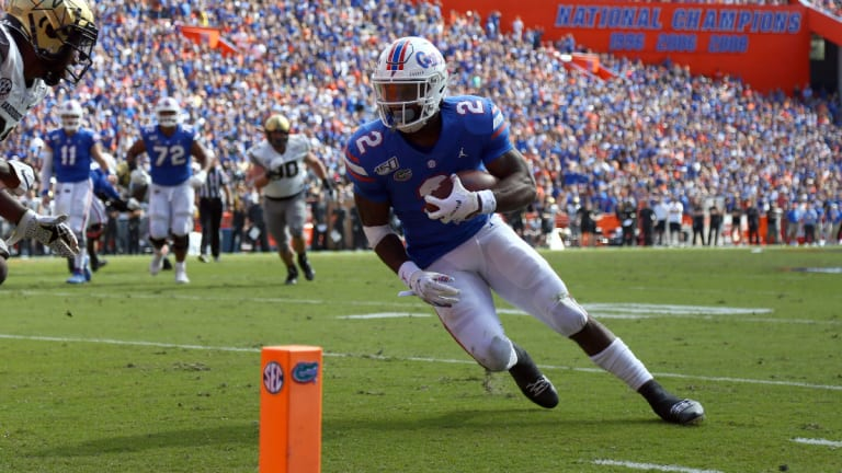 Former Gators RB Lamical Perine Will 'Feel at Home' With New York Jets