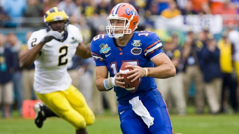 Tim Tebow, Nine Former Gators Selected to UF Athletic Hall of Fame